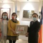 駐阿根廷代表處捐贈口罩 關懷臺灣僑民