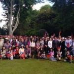 紐西蘭漢彌頓僑胞元旦升旗 齊祝中華民國國運昌隆