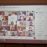 與大華府僑領視訊會議 童振源與蕭美琴感謝僑界對臺灣的支持