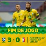美洲杯揭幕戰 東道主巴西隊3比0大勝