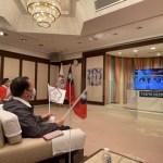 謝長廷未出席東奧開幕式 為台灣選手線上加油