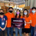 泰國臺灣商會聯合總會青商會愛心捐贈活動 展現關懷當地社會精神