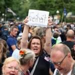 柏林5000人街頭抗議防疫措施 逾600人被捕