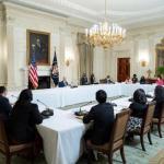 全國亞太裔領袖和拜登總統會談董繼玲代表全美亞裔總商會發聲