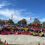 橙縣僑界升旗慶雙十 展現海外僑胞向心力