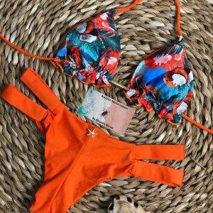 Bikini com duas tiras e Bojo dupla face