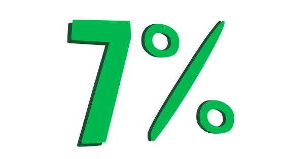 7% Sales Tax