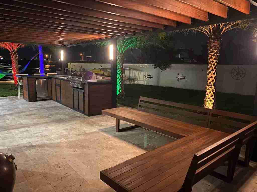 ipe lumber benches