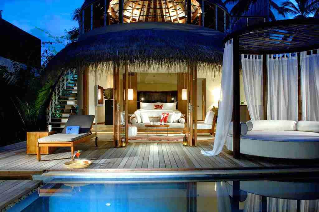Ipe deck at W retreat and spa maldives