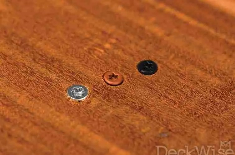 Color Match Decking Fasteners