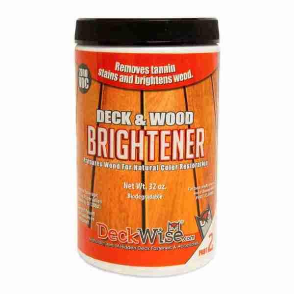 DeckWise Deck and Wood Brightener Part 2