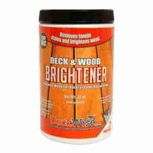 DeckWise Deck and Wood Brightener Part 2 32oz