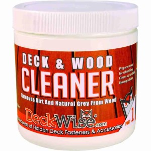 DeckWise Deck and Wood Cleaner Part 1 16oz