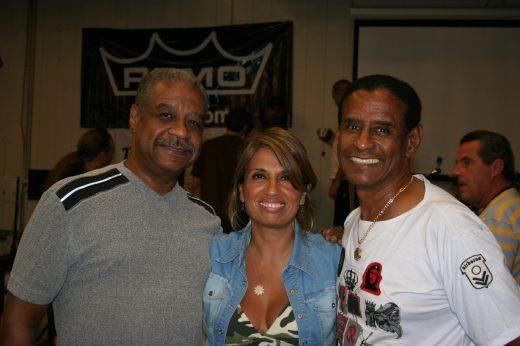 Com Birani e Bira Presidente do Fundo de Quintal