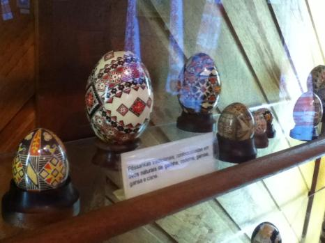 Pysanky Eggs within the memorial