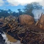 Polícia Civil fiscaliza loteamentos irregulares no Lago Corumbá IV e flagra carvoaria ilegal