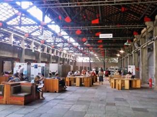 SESC Pompeia Reading Area - photo P. Ray