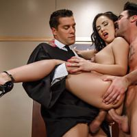 Judge, Jury, And Double Penetrator Kristina Rose