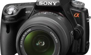 Repair of Sony SLT-A55V