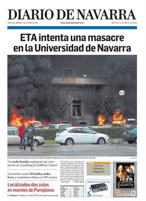 Foto produzida pelo estudante de jornalismo, Luis Carmona da Universidade de Navarra