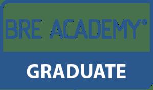 BRE Academy Graduate Logo