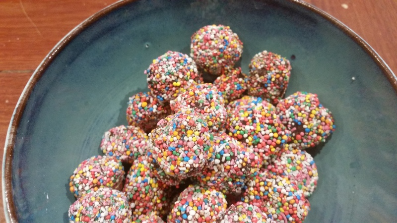 Kids chocolate truffles