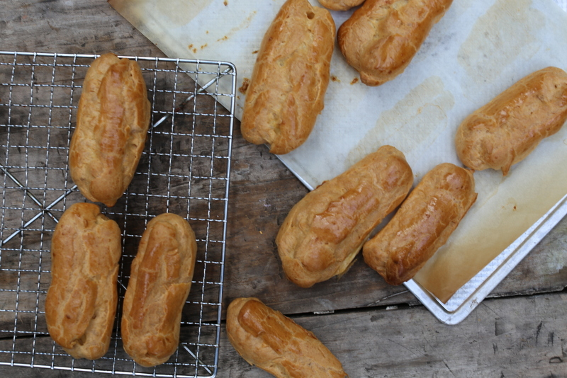 Choux Pastry (Pate a choux), manual recipe