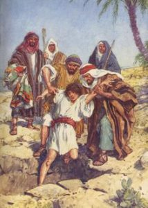 Joseph sold to Egypt for the Pursuit of glory