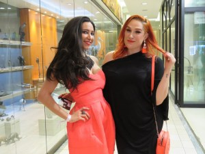 Tamara Dey and DJ Kimmy K