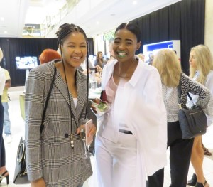 Lulama Wolf and Mante Ribane at Hyde Park September Issue launch