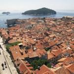 Old City of Dubrovnik, walls & Lokrum Island