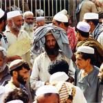 Afghan, Money exchange market, Peshawar Bazaar, 1995