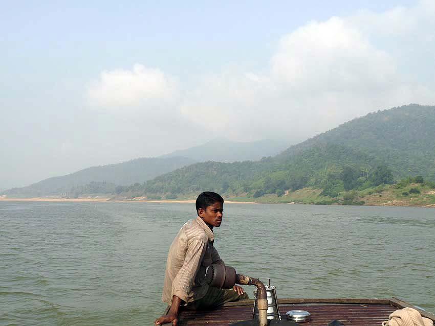 On the Godavari River, 2009
