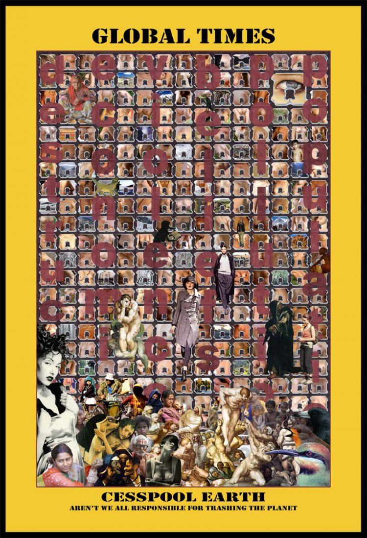 Trafficked Series, Cesspool Earth, 2009, Digital print, 152 x 101 cm