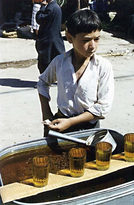 Serious Work, Kashagar Sunday Market