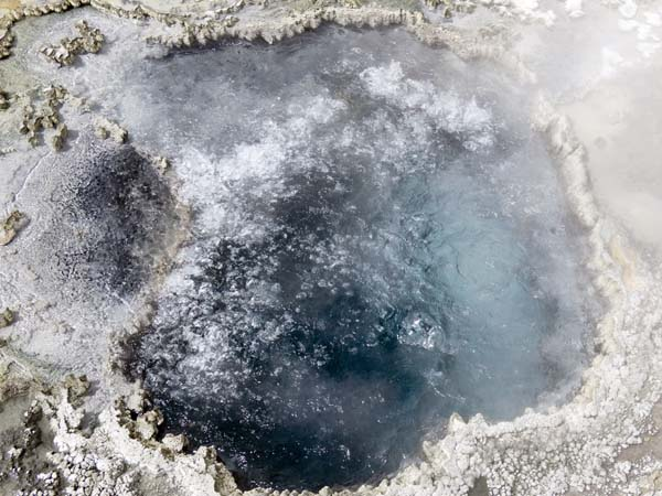 Boiling Pool, Midway Geyser Basin, Yellowstone