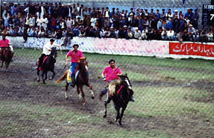 Extreme Polo Gilgit, First to Get There