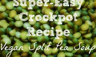 Quick & Easy Crockpot Split Pea Soup