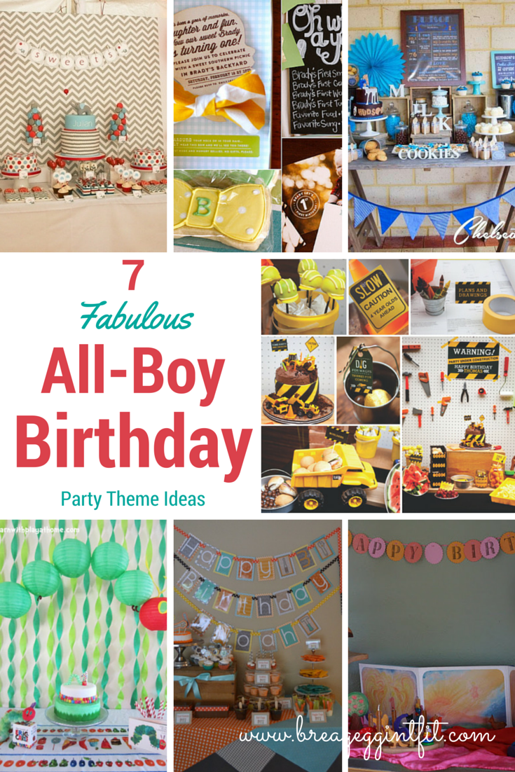 7 All Boy 1st Birthday Party Ideas