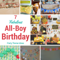 first birthday party ideas for boys