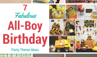 The Baby Is Turning 1 7 Fabulous All Boy 1st Birthday Party Ideas