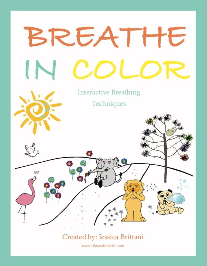 breath in technique coloring book review