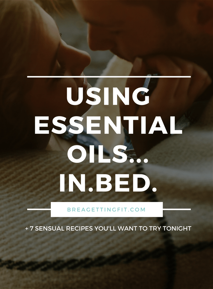 ESSENTIAL OILS IN BED