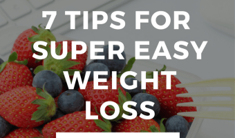 7 Sneaky Ways to Lose Weight Easily