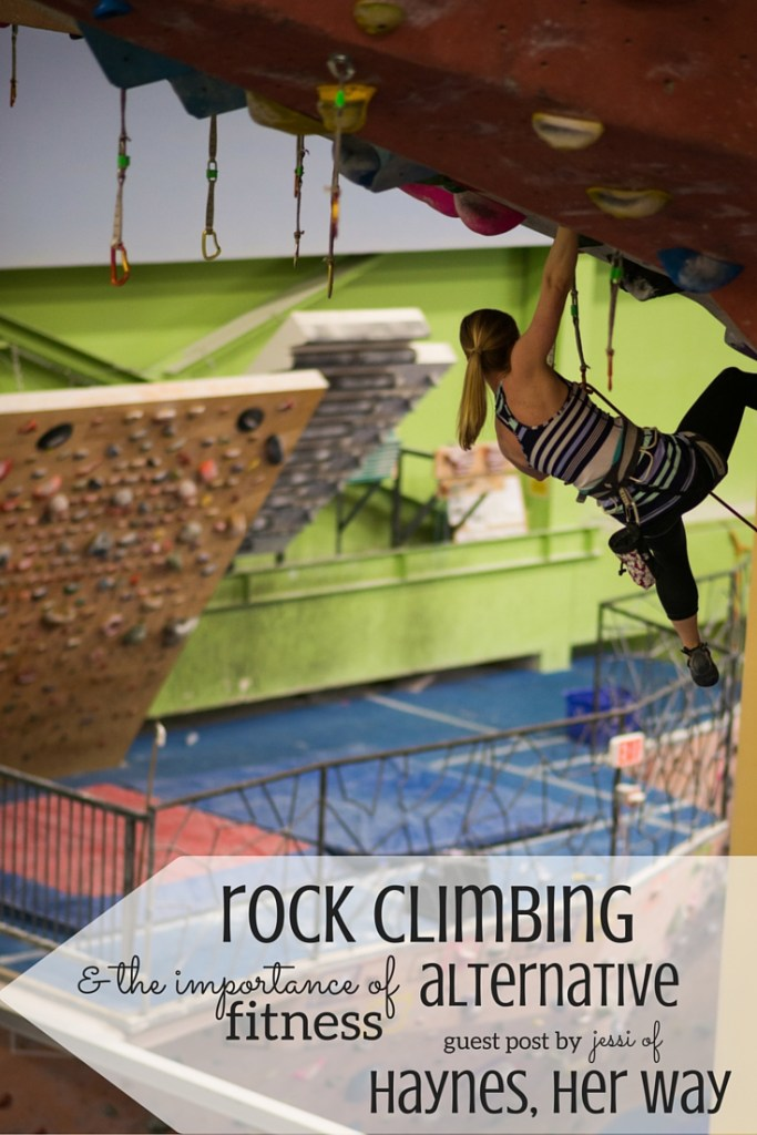 Thinking of trying rock climbing? Check out this awesome alternative way to fitness!
