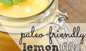 Lemon Coconut Pudding Recipe