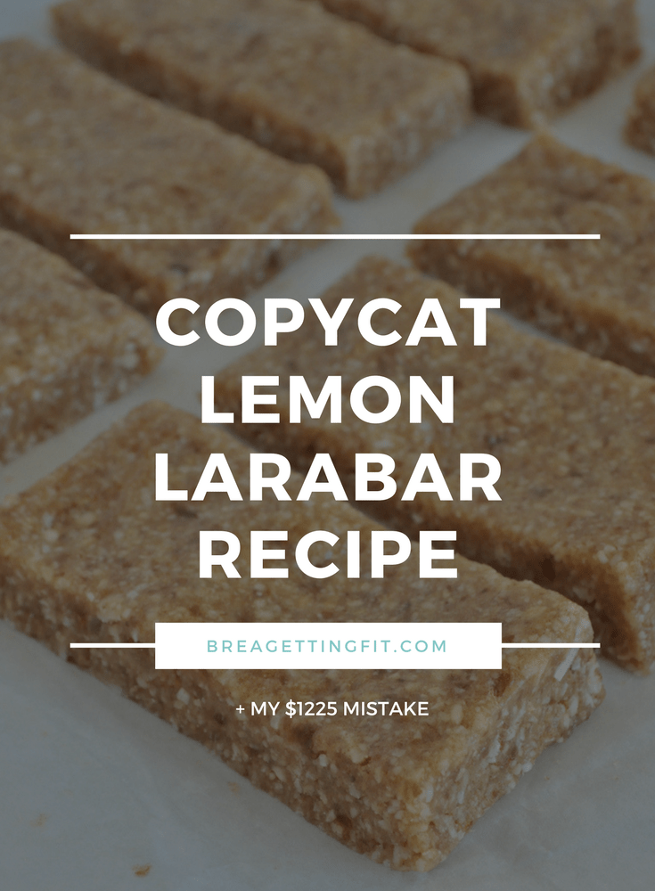 copycat lemon larabar recipe