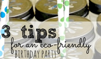 The 3 Things You Need For An Eco-Friendly Birthday Party