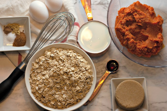 how to make baked pumpkin oatmeal