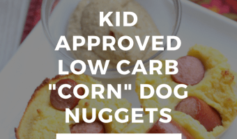 "Low Carb ""Corn"" Dog Muffins"